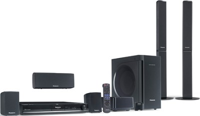 SC-PT770 - 5.1-channel DVD Home Theater System w/ 1080p Up-conversion