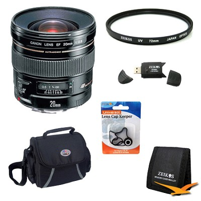 EF 20mm F2.8 USM Lens Exclusive Pro Kit