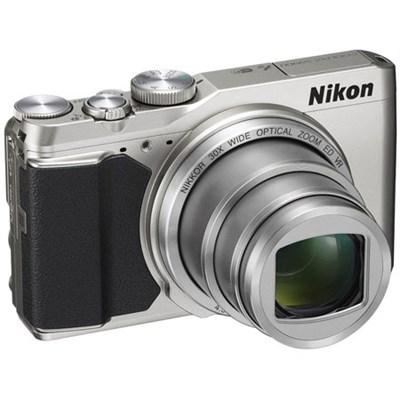 COOLPIX S9900 16MP HD 1080p 30x Opt Zoom Digital Camera Silver (Refurbished)