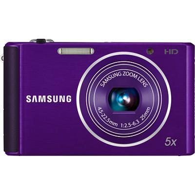 ST76 16 MP 5X Compact Digital Camera - Purple