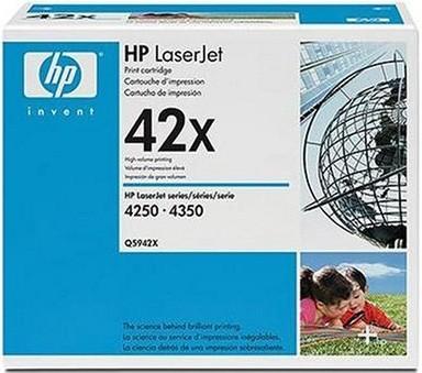 LaserJet 42X Black print cartridge - maximum capacity