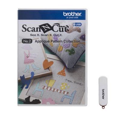 USB No. 2 Applique Pattern Collection - CAUSB2