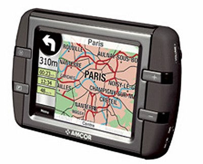 3500 3.5` GPS In-Car Navigation System