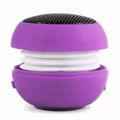 Speaker Ball for iPhone, iPod, iPad, All Tablets, and MP3's - Purple