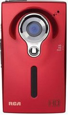 EZ2000 Handheld HD Camcorder with 2.0` LCD Display (Red)