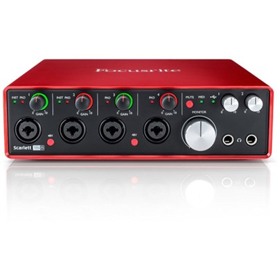 Scarlett 18i8 USB Audio Interface (2nd Generation) - OPEN BOX