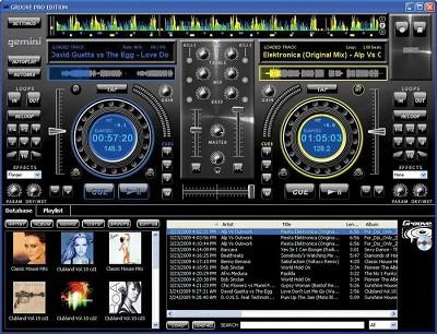 GROOVE DJ Software