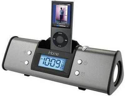 iH16 Portable Speaker System for iPod (Gray)
