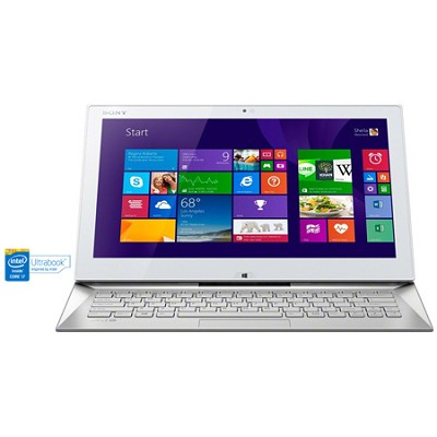 Duo 13 SVD13236PXW 13.3` Touch White 2 in 1 Ultrabook - Intel Core i7-4500U Proc