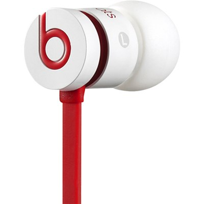 Dr. Dre urBeats In-Ear Headphones (White/Red) Certified Refurbished