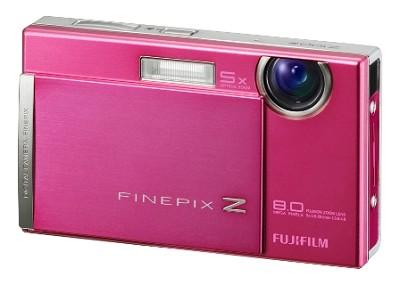 FINEPIX Z100fd 8MP Digital Camera (Shell Pink)
