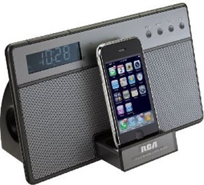 RC65i iPod & iPhone 3G Docking Clock Radio