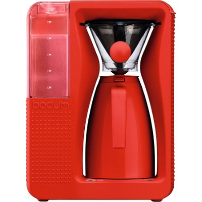Bistro Electric Pour Over Coffeemaker - Red - OPEN BOX