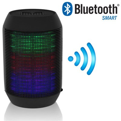 Compact Bluetooth Speaker with Surround Colorful LED Lighting