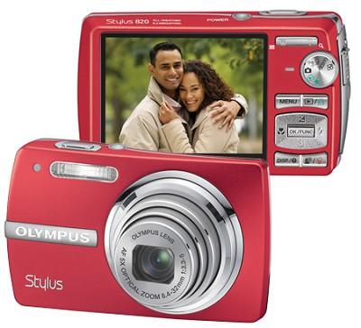 Stylus 820 Digital Camera (Red)