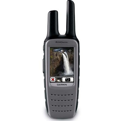 Rino 655t Rugged GPS w/ 5-Watt Two-Way Radio & Preloaded Topographic Maps