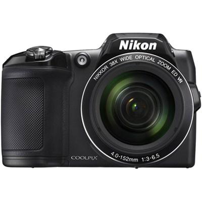 COOLPIX L840 16MP Digital Camera w/ 38x Zoom VR Lens + Wi-Fi - Black Refurbished