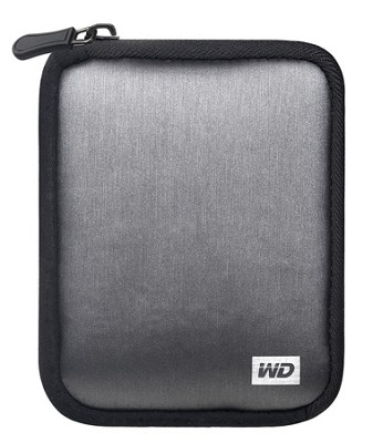 My Passport Carrying Case ( Silver ) WDBABK0000NSL-WASN