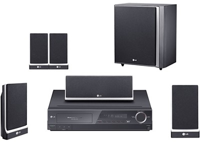 LHT764 - 5-disc DVD Home Theater System w/ upconversion, XM Ready, iPod Control