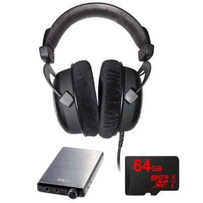 DT 880 Premium Black Version 32 OHM w/ FiiO A5 Headphone Amps Bundle