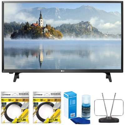 LJ500B Series 32` Class LED HDTV 2017 Model 32LJ500B with Cleaning Bundle