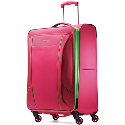 Skylite 25` Raspberry / Lime Spinner Luggage
