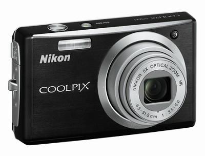 Coolpix S560 Digital Camera (Graphite Black)