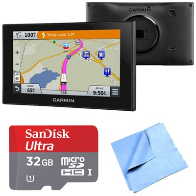 010-01535-00 - RV 660LMT Automotive GPS 32GB MicroSDHC Card Bundle