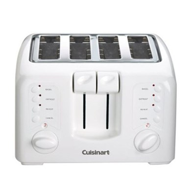 CPT-140FR Electronic Cool Touch 4-Slice Toaster White - Manufacturer Refurbished