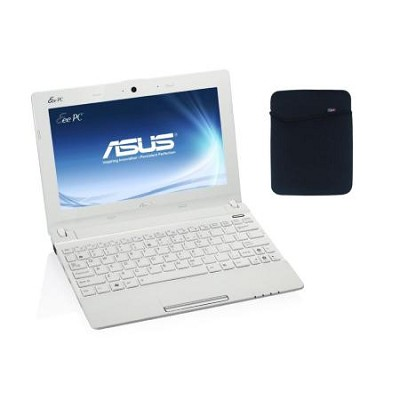 Eee PC X101CH-EU17-WH 10.1 LED Netbook W/Intel ATOM N2600 Dual Core- White