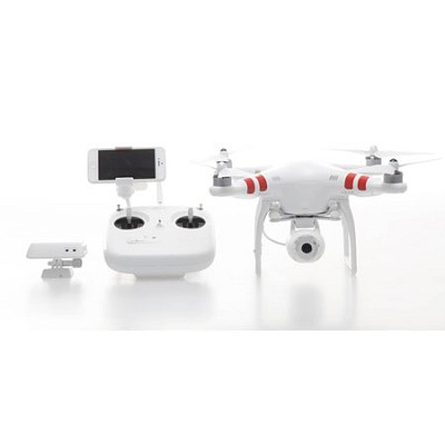 Phantom 2 Vision Quadcopter with Integrated FPV Camcorder - White - OPEN BOX