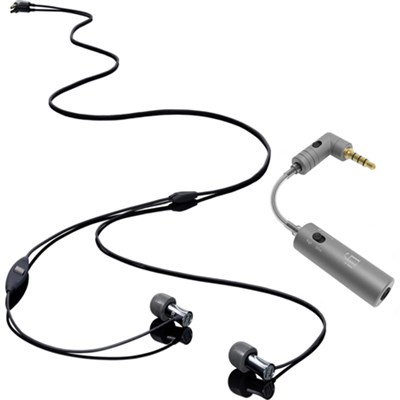 Tio Aluminum High Performance In-Ear Headphones w/ Mic, Remote, Case w/ iEMATCH