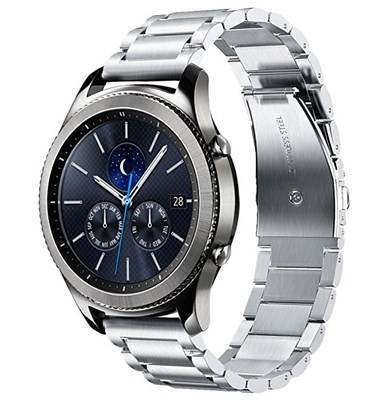 Metal Wrist Band for Samsung Gear S3 - Silver