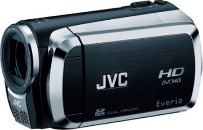Everio GZ-HM200 Dual SD High-Def Camcorder (Black) - Open Box
