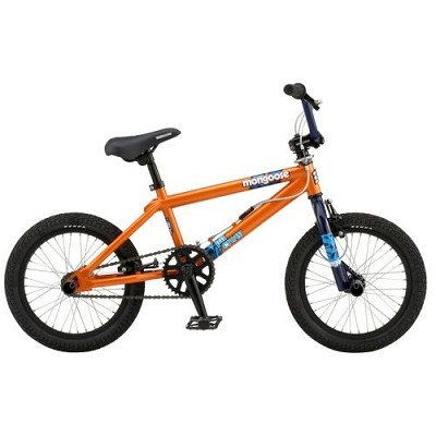 Pit Crew 16` Freestyle BMX Bike (Orange)
