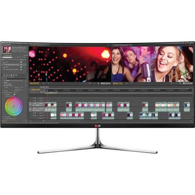 34UC97-S IPS 21:9 34` 3440X1440 Curved UltraWide QHD LED-Lit Monitor Display