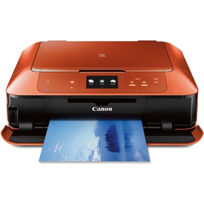 PIXMA MG7520 Orange Wireless Color All-in-One Inkjet Multifunction Printer