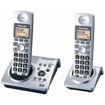 KX-TG1032S DECT 6.0  ( 2 Handsets Included )