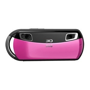 DXG USA 3D Camera and 3D Viewer Pink