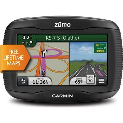 Zumo 390LM 4.3-Inch Motorcycle GPS Navigator