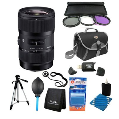 AF 18-35MM F/1.8 DC HSM Lens Kit for Sigma