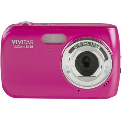 16 MP Digital Camera Hot Pink VS126-PNK