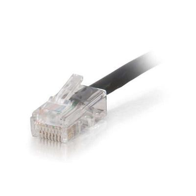 25FT Patch Networking Cable - CAT 5e - UTP 25 ft - Black - 15259