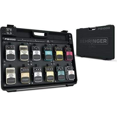 PB1000 Universal Effects Pedal Floorboard Case