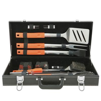 20-Piece Barbecue Tool Set with Attached Case - 94006X
