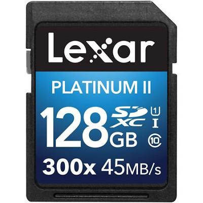 Platinum II 300x SDXC 128GB UHS-I/U1 Flash Memory Card - 2 Pack