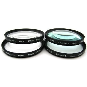 58mm 4-piece Close-up lens set - Zoom in on the Details!