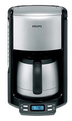 FMF5 10-cup Thermal Prog. Coffee Machine - Black