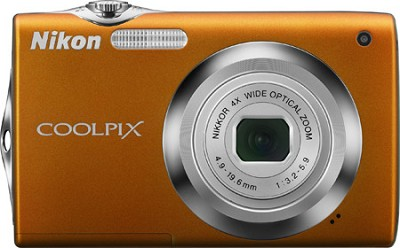 COOLPIX S3000 Digital Camera (Orange)