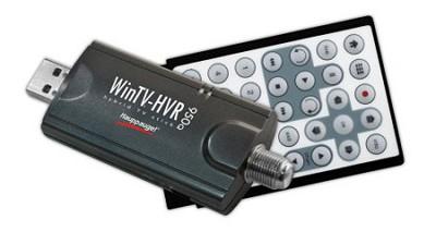 WinTV-HVR-950Q TV Tuner Stick/Personal Video Recorder w/Clear QAM & Remote  1191